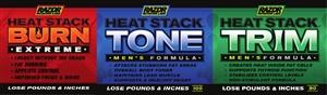 Heat Stack 3 Pack Men's (Burn Extreme)